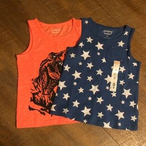 NWT Jumping Beans Tank tops